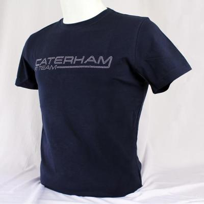 Мужская футболка Caterham Men Studded T-shirt - Navy Blue