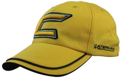 Бейсболка Caterham 2013 - Yellow Cap