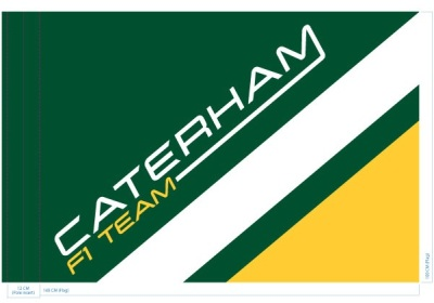 Флаг Caterham Team Flag