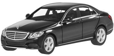 Модель автомобиля Mercedes C-Klasse Limousine Exclusive Black 1/87