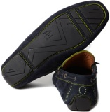 Мужские мокасины Jaguar Men's F-type Suede Driving Shoes Navy, артикул JFAAMSN7