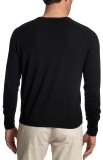 Мужской свитер Jaguar Men's V-neck Sweater Black, артикул JSS12SW2XS