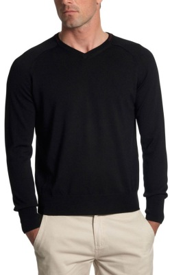 Мужской свитер Jaguar Men's V-neck Sweater Black