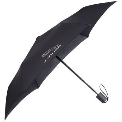 Складной зонт Jaguar Pocket Umbrella Black 2015