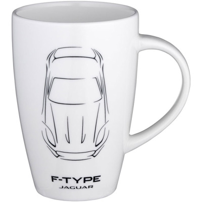 Кружка Jaguar F-type Mug White
