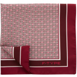 Платок Jaguar Men's F-type Pocket Square Red, артикул JSTFTPSR