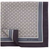 Платок Jaguar Men's F-type Pocket Square Grey, артикул JSTFTPSG