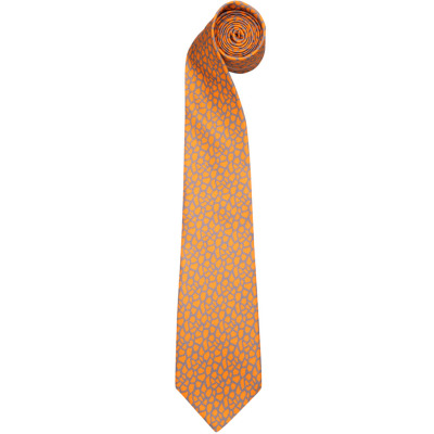 Галстук Land Rover Terrain Silk Tie Orange