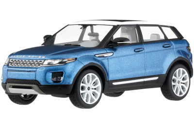 Модель автомобиля Range Rover Evoque 5 Door, Scale 1:43, Mauritus Blue