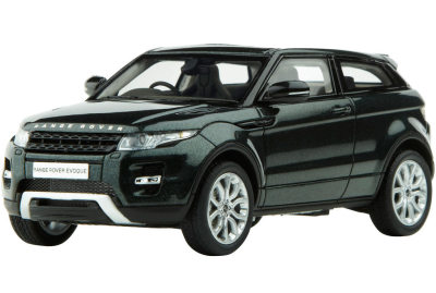 Модель автомобиля Range Rover Evoque Scale Model 1:43 Galway Green