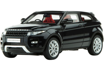 Модель автомобиля Range Rover Evoque Scale Model 1:43 Santorini Black