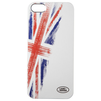 Чехол для iPhone Land Rover Union Flag iPhone 5 Case Silver