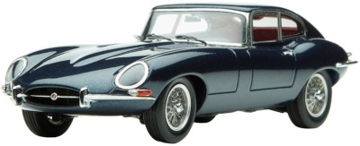 Модель автомобиля Jaguar E-type Coupe Scale Model 1:43 Indigo