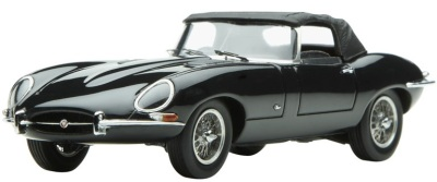Модель автомобиля Jaguar E-type Series 1 Scale Model 1:43 Black