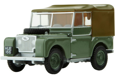 Модель автомобиля Land Rover Series 1 Export Version Scale Model 1:43