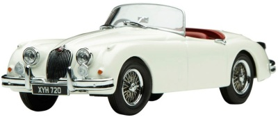 Модель автомобиля Jaguar XK150 Old Englis Roadster Scale Model 1:43