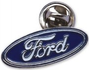 Значок Ford Pin Blue
