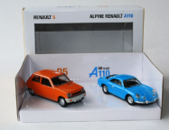 Набор моделей Renault Birthdey Set (R5 + A110) 3inches