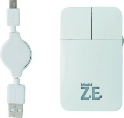 Компьютерная мышь Renault Zoe Lumineous Thin Mouse White 2013