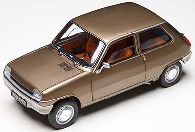 Модель Renault 5 Glazed Brown 1972 1/18