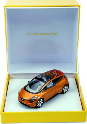Модель Renault Concept Car R-space 1/43