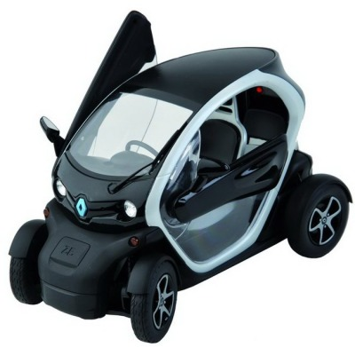 Модель Renault Twizy Pack technic black 1/12