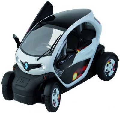 Модель Renault Twizy Light my fire 1/12