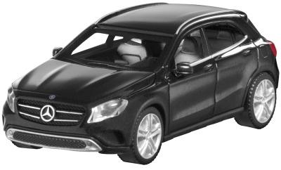 Модель автомобиля Mercedes GLA-Class Black 1/87