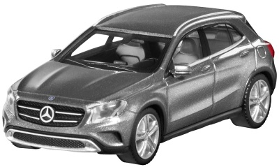 Модель автомобиля Mercedes GLA-Class, Scale 1:87, Mountain Grey