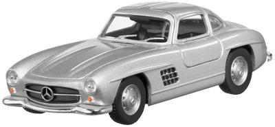 Инерционная модель автомобиля Mercedes 300 SL W 198 I 1954-1957 Pullback