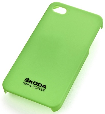 Чехол для iPhone Skoda iPhone 4/4S cover green