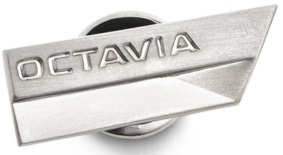 Значок Skoda Metal pin with Octavia logo