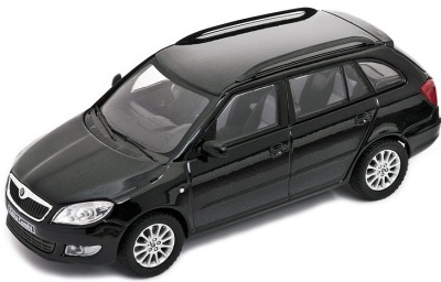 Модель автомобиля Skoda Model Fabia Combi (facelift) 1:43 magic black