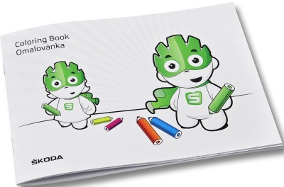 Раскраска Skoda Colouring book