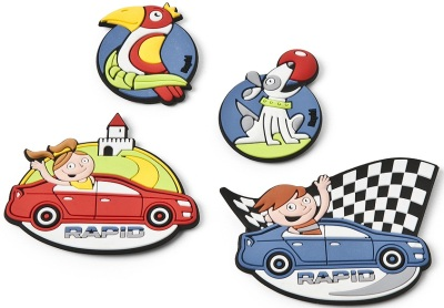 Набор магнитов Skoda Magnets Rapid children´s
