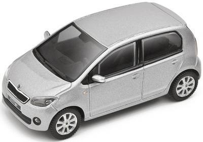 Модель автомобиля Skoda Model Citigo 1:43 brilliant silver