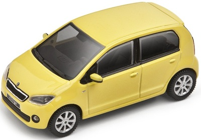 Модель автомобиля Skoda Model Citigo 1:43 sunflower yellow