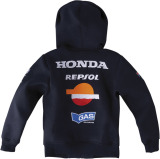 Кофта Honda China Cut Blue/Black, артикул 08GAS1RFCBXS