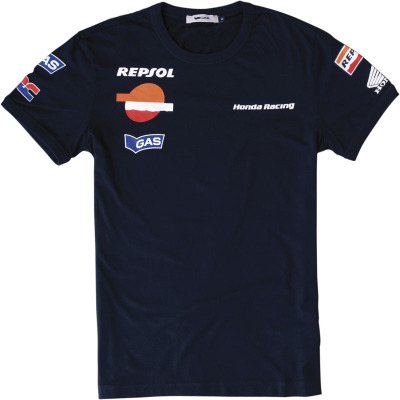 Футболка Honda Scuba Lifestyle Slim Rep, Dark Blue