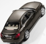 Модель автомобиля Mercedes C-Class Saloon Exclusive (W205), Scale 1:43, Citrine Brown, артикул B66960248
