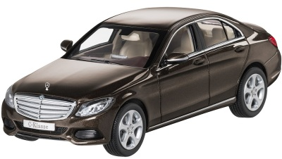 Модель автомобиля Mercedes C-Klasse Limousine Exclusive Brown 1/43