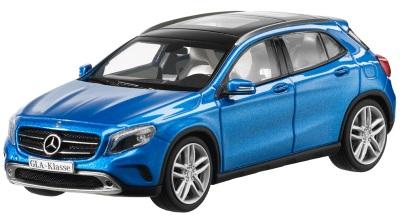 Модель автомобиля Mercedes GLA-Klasse Blue 1/43