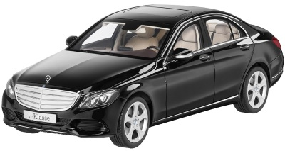 Модель автомобиля Mercedes C-Klasse Limousine Exclusive Black 1/18