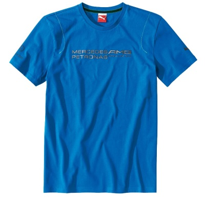 Футболка Mercedes T-Shirt Herren Lifestyle Blue