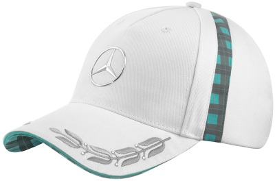 Женская бейсболка Mercedes Women's Cap, Heritage, White