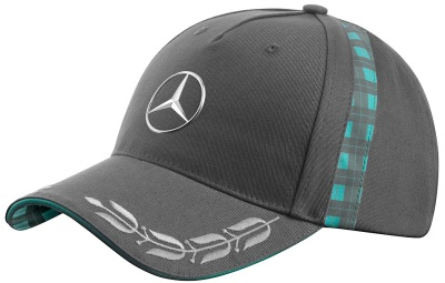 Бейсболка Mercedes Men's Cap, Heritage, Grey