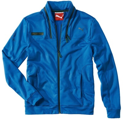 Мужская куртка Mercedes Men's Lifestyle Jacket Blue