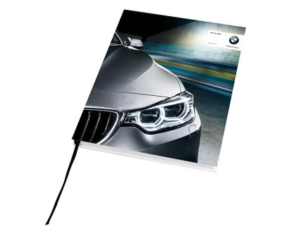 Блокнот BMW Hardcover Notebook, 192 pages