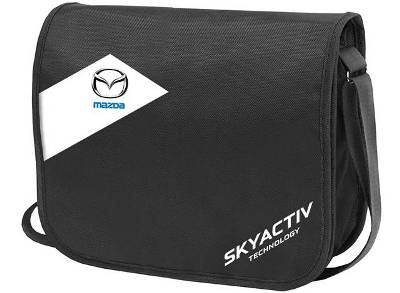Сумка на плечо Mazda Shoulder Bag, Skyactive, Black