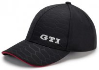 Бейсболка Volkswagen GTI Baseball Cap, Cell Structure, Black